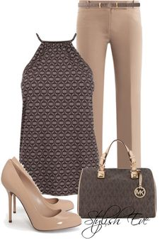 A nice work outfit. Business Outfits, Business Fashion, Business Attire, Chic Outfits, Fashion Outfits, Womens Fashion, Fashion Trends, Woman Outfits, Style Work