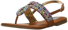 Steve Madden Jsiam Sandal (Little Kid/Big Kid) > Amazing product just a click away  : Girls sandals