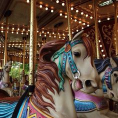 The Grand Carousel Located at the Victoria Park