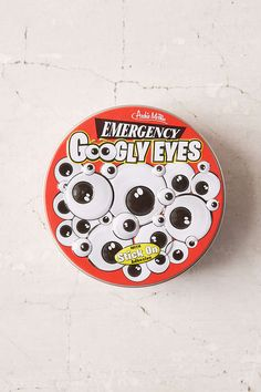 Emergency Googly Eyes Tin - Urban Outfitters