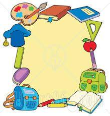 Výsledok vyhľadávania obrázkov pre dopyt molduras tema escolar