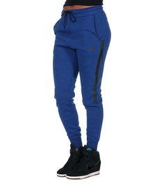 NIKE WOMENS TECH FLEECE PANT Blue