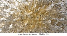 Modern, fantasy silver-gold colored Pyrite digital art illustration. Perfect choice for packaging design, background, texture.