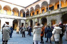 Luoghi di Quintino Sella, chiostro di San Gerolamo http://www.viaggiaescopri.it/luoghi-di-quintino-sella-touring-club/
