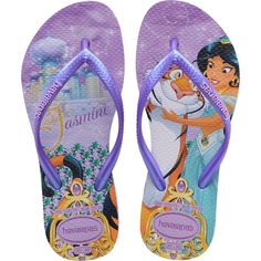 a3813ddcc203d Havaianas Slim Disney Princess Infantil - Havaianas Havaianas Slim