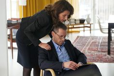 41. Yet; many divorces. Parents are expected to be cooperative and behave civilized [scene from BORGEN]