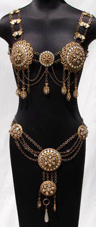 Vintage Body Jewelry. Very Dejah Thoris