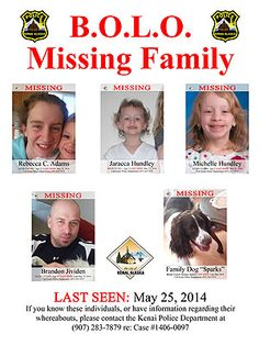 Loved Ones Keep Searching Alaska Woods for Missing Family of Four| Missing Persons, Real People Stories