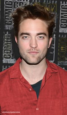 I think maybe Rob should wear red more often. :)