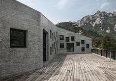 Teehaus aus Beton in China / Philosophie des Verschwindens - BauNetz.de