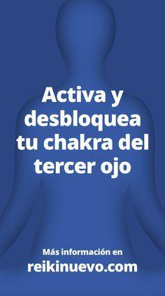 Meditación guiada podrás activar y desbloquear tu sexto chakra, chakra del tercer ojo o Ajna. Escúchala en: http://www.reikinuevo.com/meditacion-activar-desbloquear-chakra-tercer-ojo/