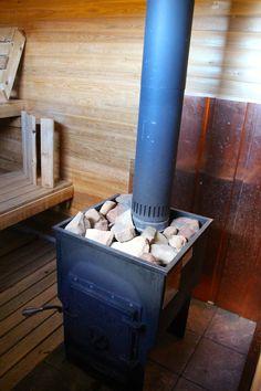 Woodburning sauna stove Sauna Ideas, Finnish Sauna, Old Stove, Steam Sauna, Nice Designs, Hot House, Saunas, Woodburning, White Hoodie