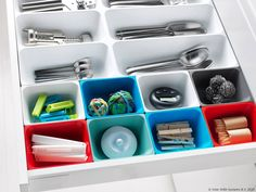 IKEA - VARIERA, Box, Helps organize things in the drawer.Ideal for storing small items like rubber bands and spices.Rounded corners for easy cleaning. Organisation Ikea, Ikea Kitchen Organization, Kitchen Storage, Ikea Variera, Box Ikea, Ikea Portugal, Make Up Storage, Kitchen Drawers, Ikea Hack