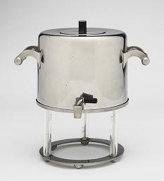 Marianne Brandt - Samovar (Water Kettle and Tripod Stand) | Harvard Art Museums, #Bauhaus 1925