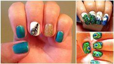 Incredible Peacock Nails   http://buzzshareblog.com/s14sxp-peacock_incredible_nails_viralpas5d92