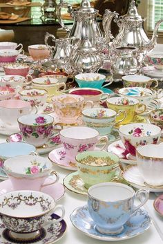 A LARGE Tea Party Somewhere!!