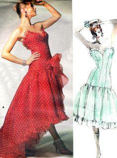 Vintage Sewing Pattern Vogue 1686 Bellville Sassoon by paneenjerez, $22.00