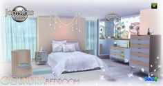 Goundra bedroom at Jomsims Creations via Sims 4 Updates