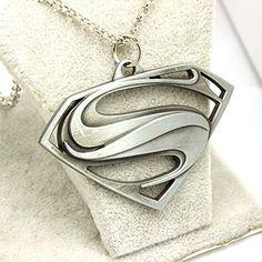 Hot Superman Necklace Ornaments Pendants Christmas Gifts @ niftywarehouse.com