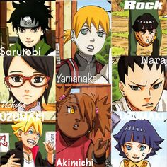 naruto new generation family - Google Search