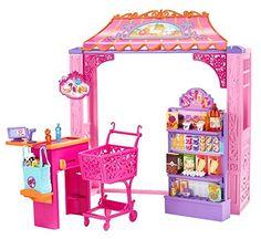 Barbie - Tiendas Malibú, accesorios Grocery Store (Mattel CCL72): Amazon.es: Juguetes y juegos