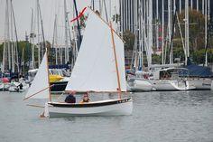Welsford's Houdini sailboat, yawl rigged Sailing Boat, Sailing Ships, Sailboat, Rigs, Boats, Places, Wedges, Ships, Sailboats