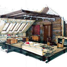 #интерьер #дизайнинтерьера #декор #эскиз #дизайнпроект #sketch #interior #interiordesign #дом #графика #дизайн #эскизинтерьера #handrendering #archisketch #ArchiSketcher