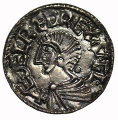 Great Britain Aethelred II 978-1016 AD Silver Penny Medieval Coin S.1151 - http://coins.goshoppins.com/medieval-coins/great-britain-aethelred-ii-978-1016-ad-silver-penny-medieval-coin-s-1151/