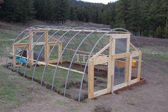 DIY Green House   Montana Animal Farm