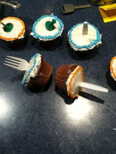 Portal Cupcakes HA! That is beautiful