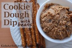 Chocolate Chip Cookie Dough Dip – Made with beans!