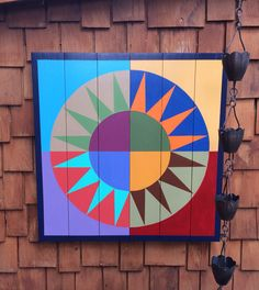 Patchwork Sun Barn Quilt                                                                                                                                                                                 More
