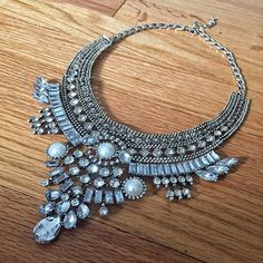 Zara statement necklace 20% off with code PIN20 and free shipping for orders over $30.