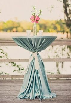 Wedding Cocktail Table