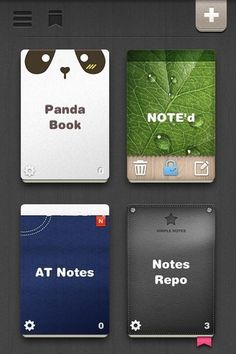 NOTE'd Is An Impressive iPhone Notes App With Themes & Dropbox Backup
