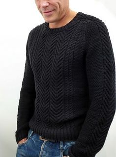 This was an endeavor of epic proportions: the knitting, the cables, the mistakes, the math…. On top of that: the sweater was a birthday present, so I couldn't have him try it on. But I ...
