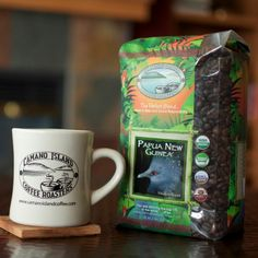 What better gift for Dad than a coffee mug and some coffee beans? #FathersDay