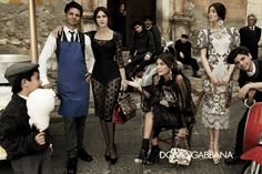 Dolce  Gabbana Fall Winter 2012 Full Advertising Campaign