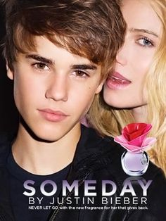 Someday by Justin Bieber 3.4 oz Eau de Parfum Spray for Women $47.98  Someday is the ideal fragrance for lively and ambitious teenage girls who exhibit an excitement and intrigue with all of the wonderful possibilities in life. Opening top notes of wild berries, pear and sweet mandarin combine perfectly with middle floral notes of creamy flowers and fragrant jasmine. Closing base notes include soft musk and sweet vanilla.