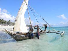 Diani Beach, Kenya, Sailing Ships, Boat, Dinghy, Boats, Ship
