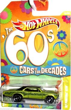 2011 Hot Wheels CARS OF THE DECADES 1967 Pontiac GTO #13/32 #HotWheels #Pontiac