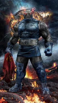 Darkseid by John Gallagher