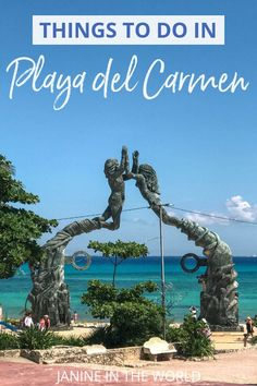 Planning a trip to the Riviera Maya? This travel guide includes all the best things to do in Playa del Carmen, Mexico. Riviera Maya, Tulum, Best Beaches In Mexico, Cities, México City, Worldwide Travel, Beautiful Places To Visit, Mexico Travel, North America