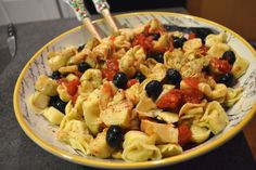 Eat Skinny Be Skinny: Pasta Salad | The Realistic Nutritionist