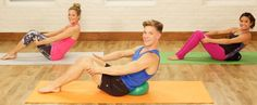 10 minutes abs with barre instructor Jake DuPree