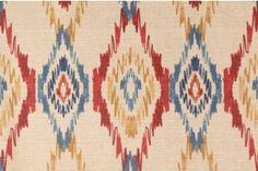 Drapery Fabric :: All Drapery Fabric :: Sosie in Venetian Printed Cotton Drapery Fabric by Mill Creek $7.95 per yard -