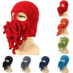 Funny Squid Mask - Nine Col..