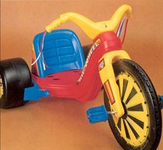 My brother had one, and I would stand/ride on the back.
