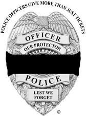 My Son and Daught-In-Law are in law enforcement.  This means a great deal to his fellow Police and family.