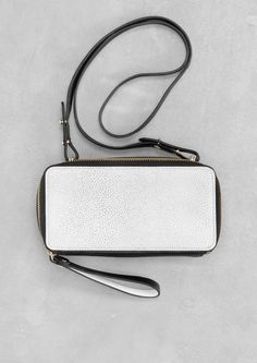 Small leather shoulder bag | Small leather shoulder bag | & Other Stories